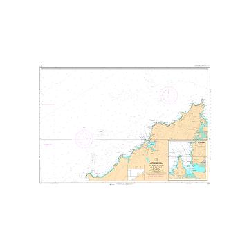 CARTA NAUTICA DEPORTIVA E21.CAMARIÑAS-MUROS