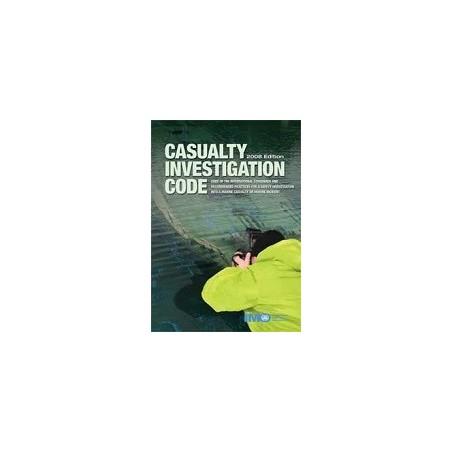 K128E E- READER CASUALTY INVESTIGATION CODE, 2008 ED