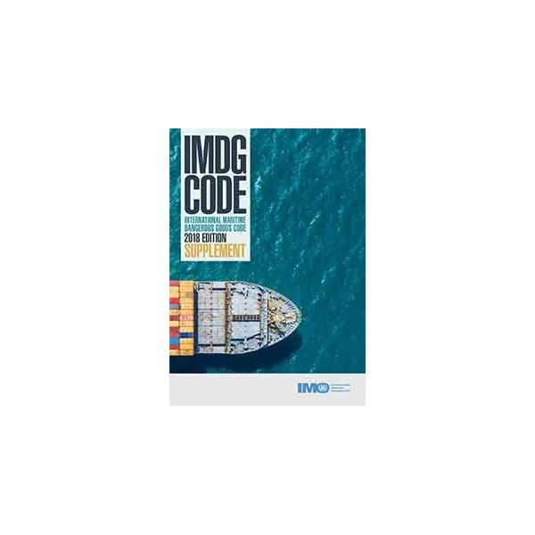 IMDG CODE SUPPLEMENT, 2018 ED