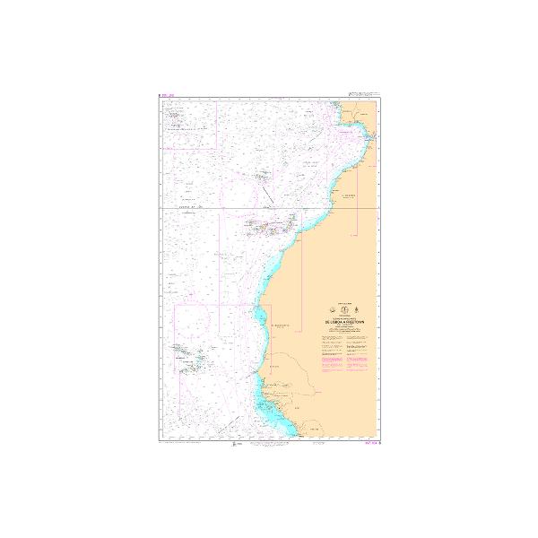 Carta 8 (INT 104). De Lisboa a Freetown