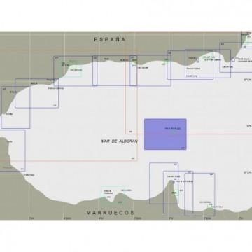 Carta 4351: Isla de Alboran.