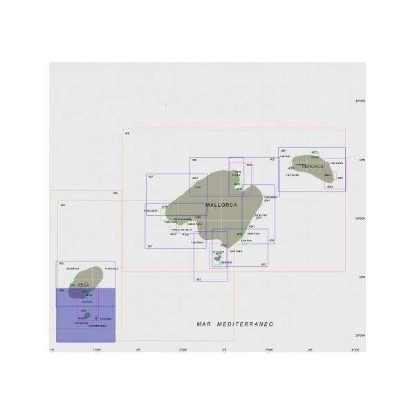 Carta 479: Costa sur de la isla de...