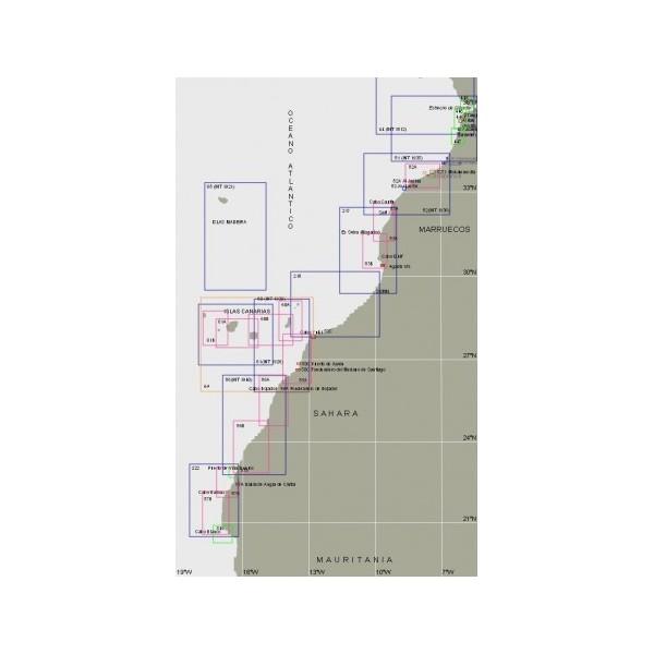 Carta 181: Rada y puerto de Agadir.