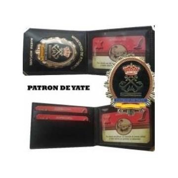 CARTERA PIEL PATRON DE YATE