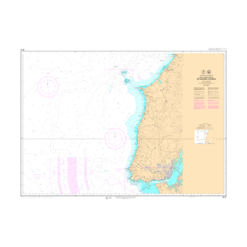 Carta 001 ANT: Islas Shetland del Sur. Isla Livingston. Base Juan Carlos I. De punta Polaca a punta Larisa.