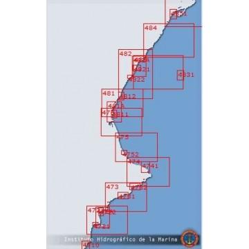 Carta 4851: Puertos de Sant...