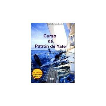 CURSO DE PATRÓN  DE YATE