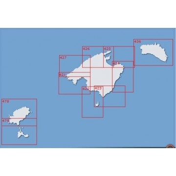 Carta 436: Isla de Menorca.