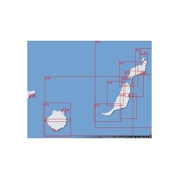 Carta 617: Isla de La Gomera.