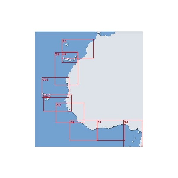 Carta 5D (INT 1085): De Cabo Roxo a...