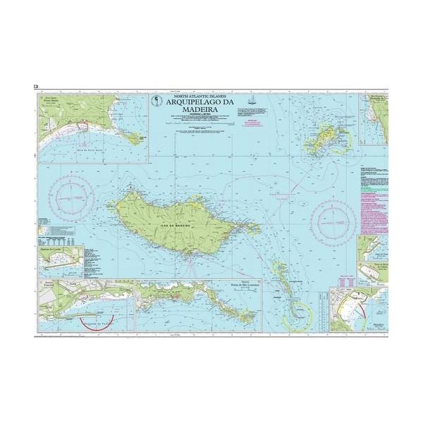 Carta Imray E3 Arquipelago da Madeira