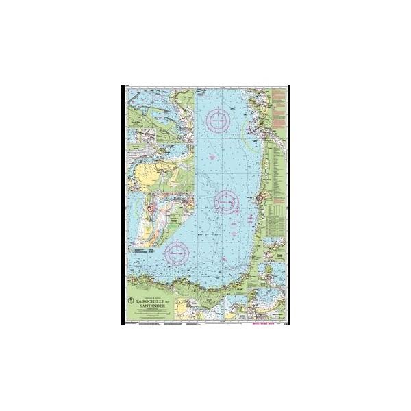 Carta Imray C42 La Rochelle to Santander