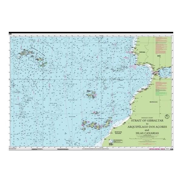 Carta Imray C20 Strait of Gibraltar...