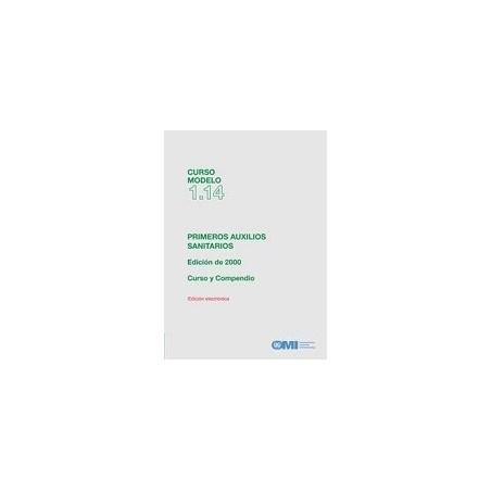 ETA114S.  EBOOK. CURSO MODELO PRIMEROS AUXILIOS SANITARIOS