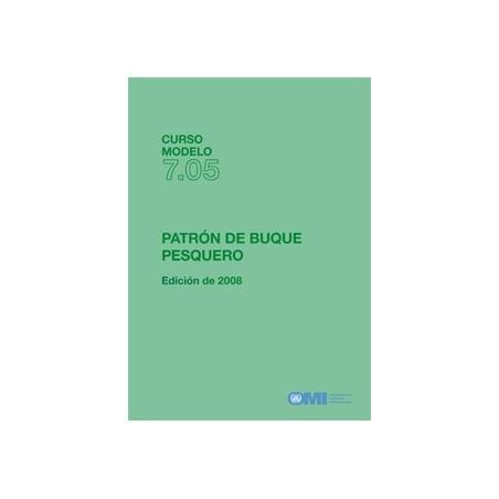 T705S. CURSO MODELO:PATRON DE BUQUE PESQUERO,2008 ED
