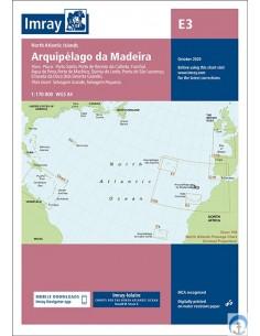 CARTA IMRAY C20. STRAIT OF GIBRALTAR TO ARCHIPIELAGO DOS AçORES AND ISLAS CANARIAS