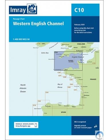 Carta Imray C10 Western English...