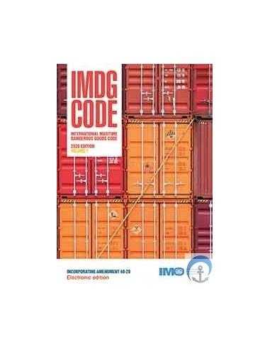 KM200E E-READER IMDG CODE, 2020 ED