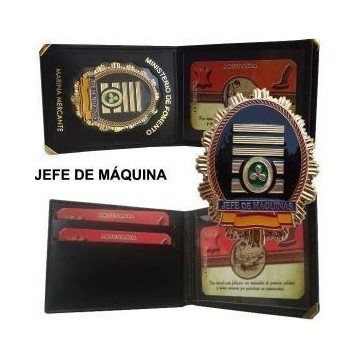 CARTERA PIEL JEFE DE MAQUINAS