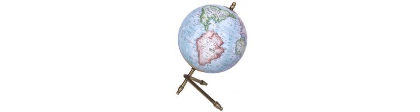 Globos del mundo y esferas armilares