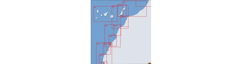 Costa Occidental sur de Marruecos e Islas Adyacentes. Canarias